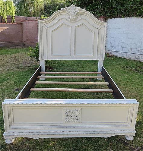 Queen Beds Beds And Cottages On Pinterest Shabby Chic Bed Frames Sale