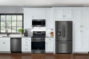 Frigidaire Kitchen Appliances Reviews by Frigidaire Launches Affordable Black Stainless Appliances