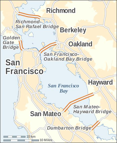 san francisco map rds bridge toll bay area ca the best bridge of 2017