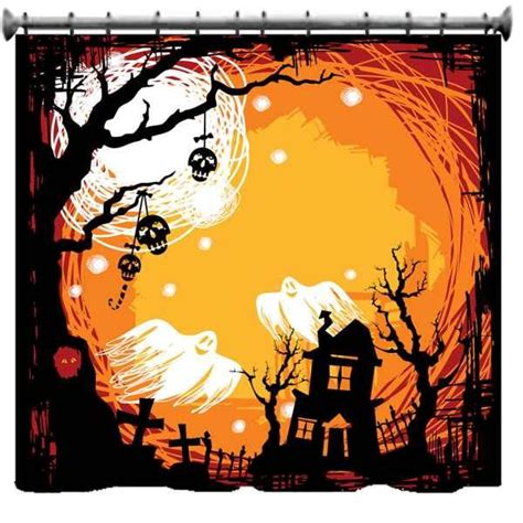 shower curtain halloween costume 11 best images about halloween window on pinterest trees