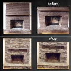 Installing A Gas Fireplace On An Interior Wall 1000 Ideas About Brick Fireplace Makeover On Pinterest
