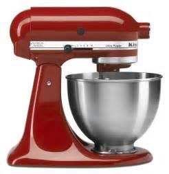Kitchen Aid Stand Mixer Red - kitchenaid kitchenaid stand mixers