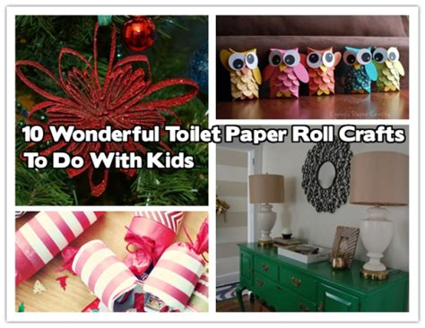 Crafts To Do With Toilet Paper Rolls - 10 wonderful toilet paper roll crafts to do image