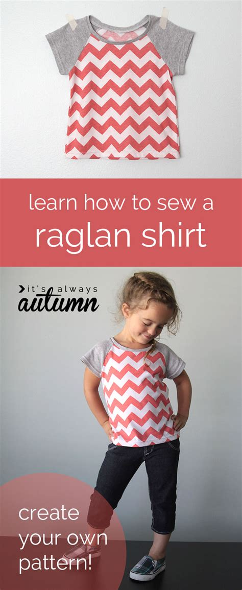 newborn t shirt pattern how to pattern draft and sew a raglan tee in any size it