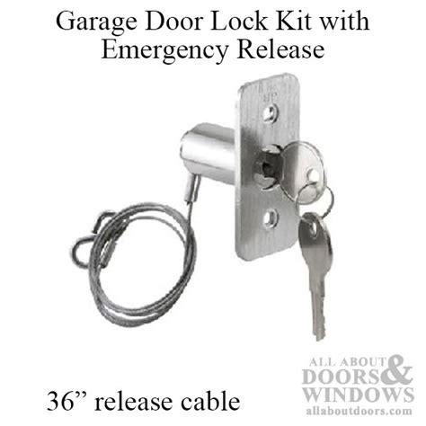 Garage Door Emergency Release Lock by Garage Door Emergency Release Lock About Remodel
