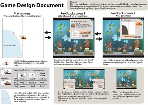 page layout document design game design document eri s graduation project