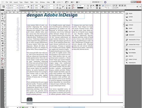 cara membuat layout majalah di coreldraw cara membuat layout majalah sederhana dengan indesign