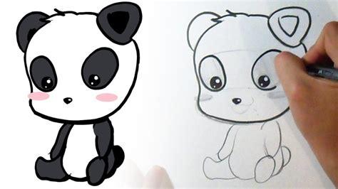 imagenes de oso kawaii c 243 mo dibujar un oso panda kawaii