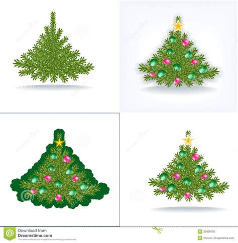 bushy christmas tree royalty free stock photo image