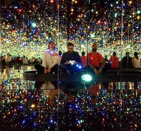 light exhibit nyc to infinity beyond a preview of the hirshhorn s yayoi