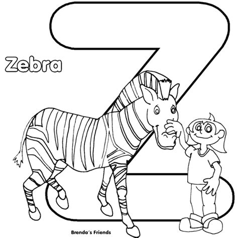 free printable coloring pages z alphabet coloring alphabet coloring pages