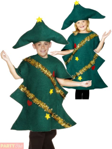 xmas tree model for fancydress childs tree costume boys festive fancy dress ebay