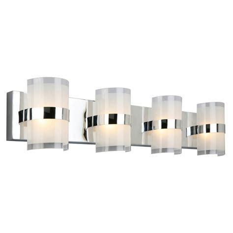 design house lighting products design house haswell 32 watt polished chrome integrated