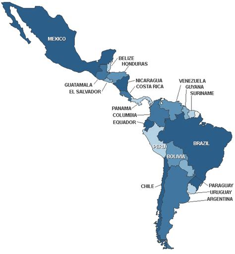 south america map and central america maps of mexico central america and south america