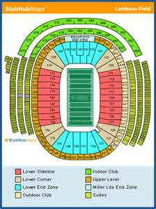 lambeau field map lambeau field seating chart pictures directions and history green bay packers espn