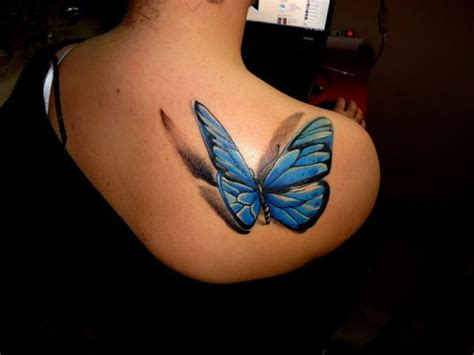 tattoo butterfly with shadow 3d butterfly tattoo ink pinterest creative this is
