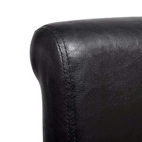 esszimmerstuhl 4er set esszimmerstuhl kunstleder schwarz 4er set g 252 nstig kaufen