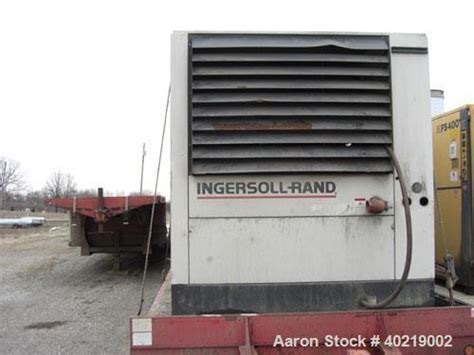 used ingersoll rand air compressor model