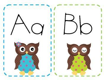 free printable alphabet letters for classroom display 737 best images about owl classroom theme on pinterest
