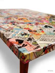 Comic Book Coffee Table Adventures In Decoupage The Big Blue Bully