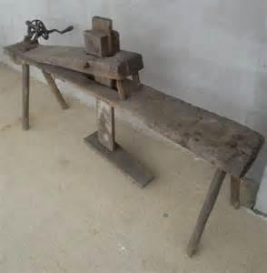 Log Bench Plans Antique Primitive Shaving Horse Bench Tool On Popscreen