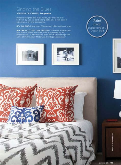 Damask Bedroom Ideas Chinese Red And Blue Bedroom Interiors By Color