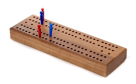 cribbage board in wood zontik