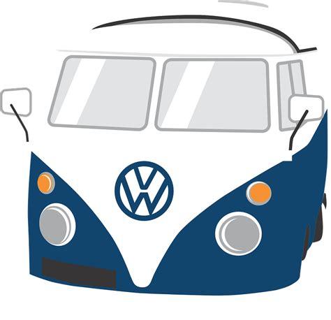 volkswagen van transparent free vector graphic vw cer combi type 2 free