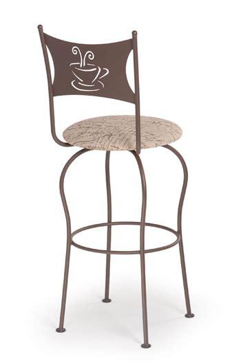 trica grace 30 brushed steel bar stool w swivel trica cafe swivel bar stool w coffee or tea cup design