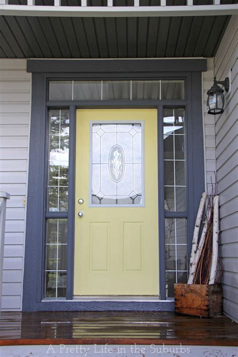 front door makeover simple sunny door makeover a pretty life in the suburbs