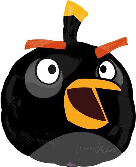 Angry Xl angry birds shape xl folienballon black bird