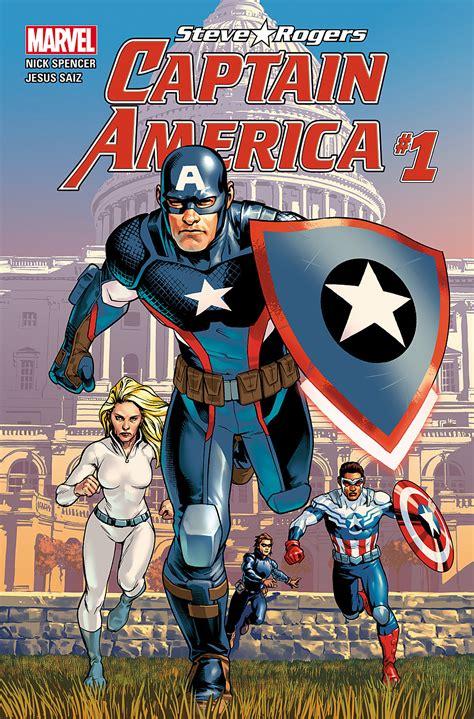 captain america marvel america 1 the unsurprising return of steve rogers as captain america