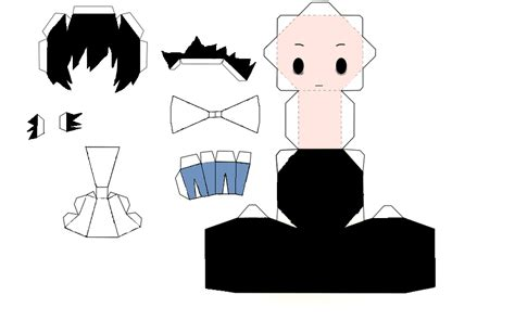 Note Papercraft - note chibi l papercraft by len11999 on deviantart