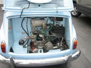 Fiat Multipla Engine Bring Your Amici 1958 Fiat 600 Multipla Bring A Trailer