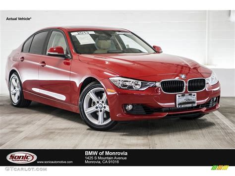red bmw 328i 2013 melbourne red metallic bmw 3 series 328i sedan