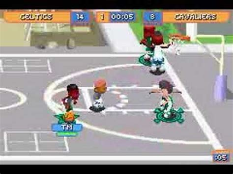 backyard basketball gba backyard basketball 2007 intro how to save money and do