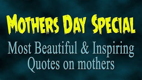 s day when you someone quote mothers day special most beautiful quotes on mothers