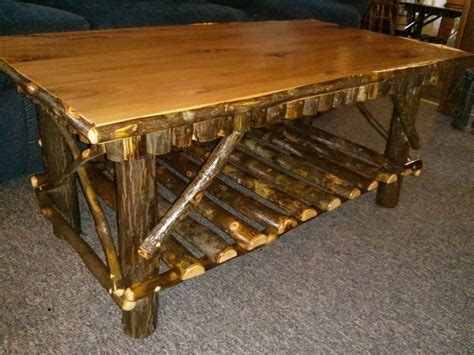 Log Coffee Table Plans Amish Coffee Table Woodworking Projects Plans
