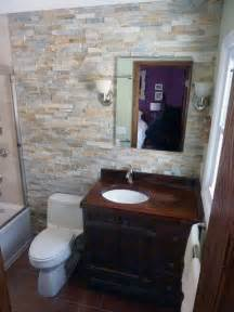 rustic small bathroom small bathroom makeover rustic bathroom new york