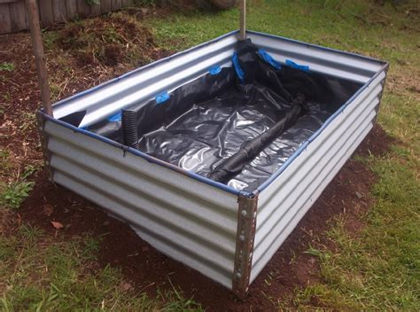 diy garden beds forum diy colorbond raised garden bed