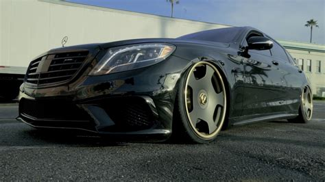 bagged mercedes amg el chapo bagged mercedes benz s63 bagsbyboden youtube