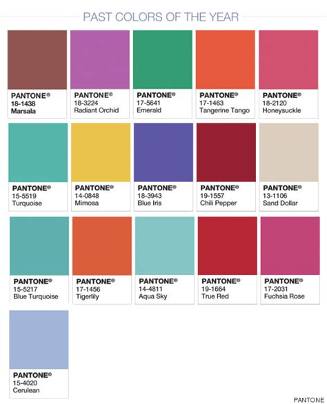 colores pantone doble color pantone para 2016 rosa cuarzo y serenidad