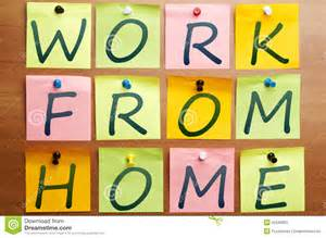 free work from home work from home ad royalty free stock photo image 22545025