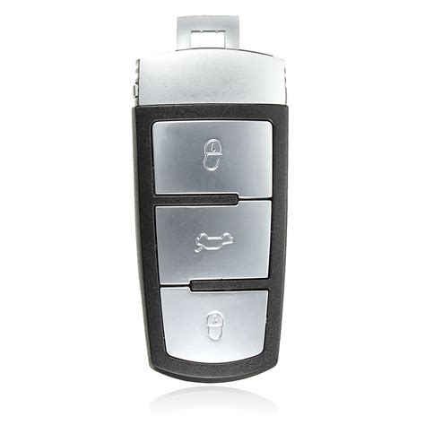 Volkswagen Passat Key Replacement by 3 Button Remote Key Fob Replacement Shell For