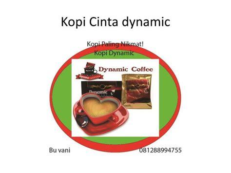 Kopi Dynamix ppt wa 0812 8899 4755 agen kopi dynamic ainaro agen