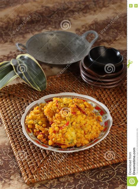 indonesian food stock image image  flour corn healthy