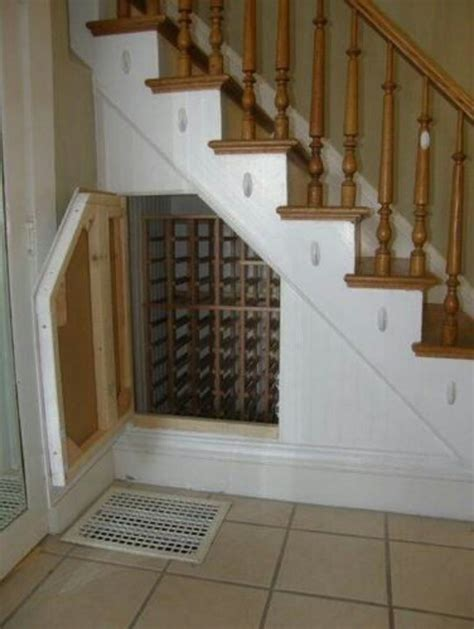 wine storage under stairs wine storage under stairs kitchen pinterest
