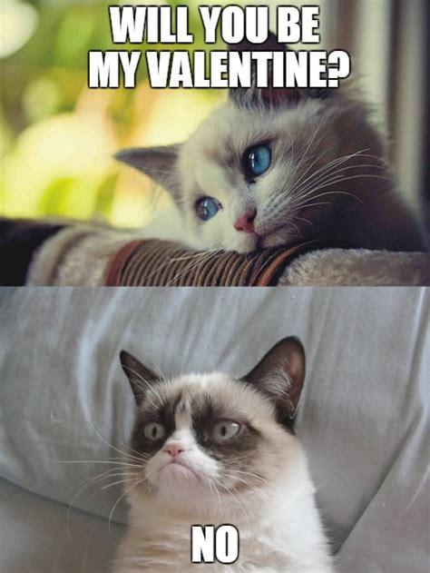 Grumpy Cat Meme Valentines Day - grumpy cat valentine imgflip