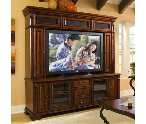 Serenato 80 Inch Tv Console And Hutch In Camella Cherry