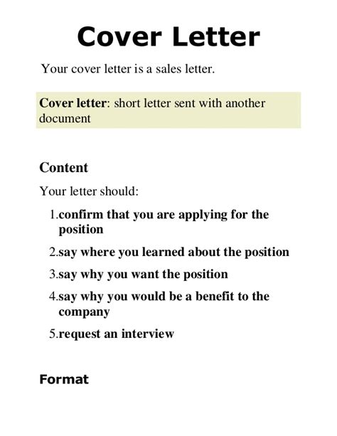 cover letter document 2 cover letter presentation